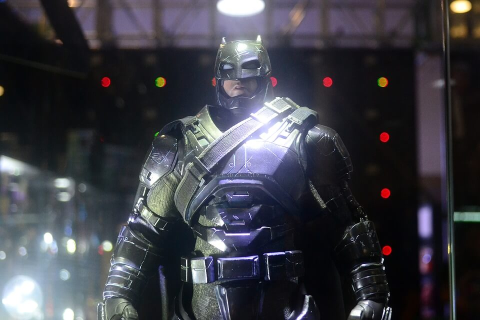 Batman ready for battle